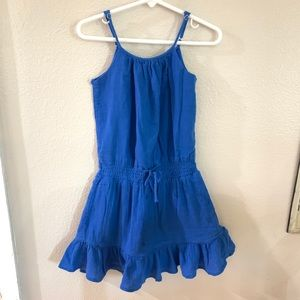 Ralph Lauren Blue Gauze Dress / Beach Dress